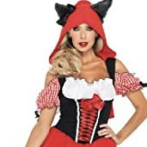 Leg Avenue Red Riding Wolf Halloween Costume XS